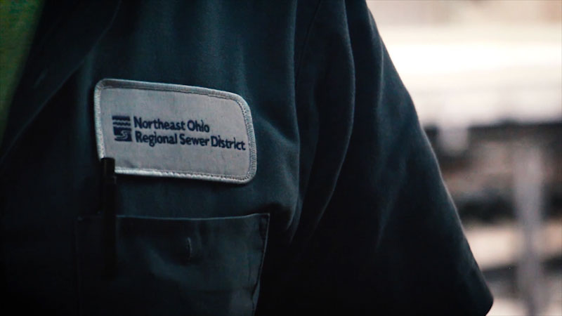 Still image from: Talking Jobs With CEOs: Northeast Ohio Regional Sewer District