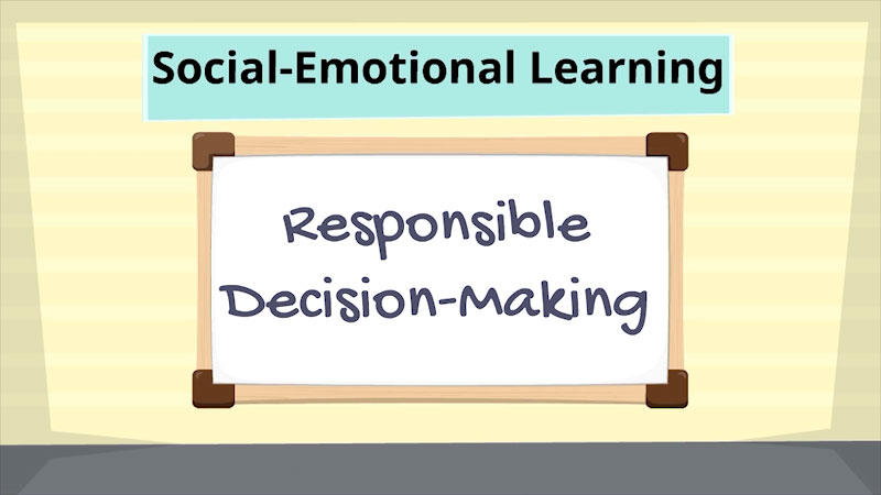 Still image from: Social-Emotional Learning: Responsible Decision-Making