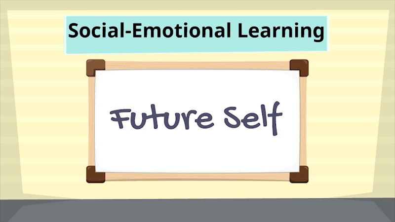 Still image from: Social-Emotional Learning: Future-Self