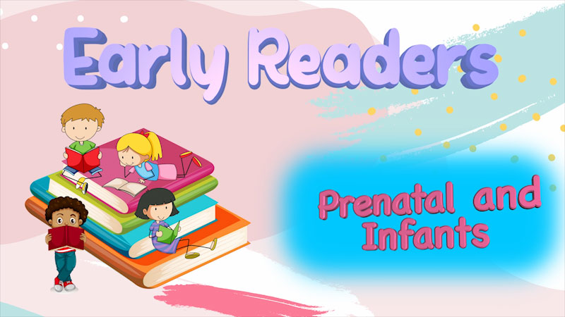 Still image from: Literacy Tips Across Ages: Early Readers (Prenatal-12 Months)