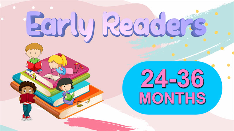 Still image from: Literacy Tips Across Ages: Early Readers (24-36 Months)