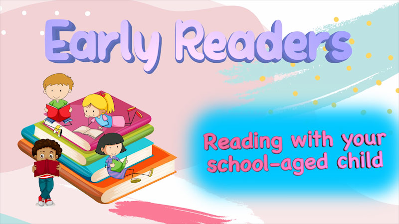 Still image from: Literacy Tips Across Ages: Early Readers (Reading With Your School-Aged Child)