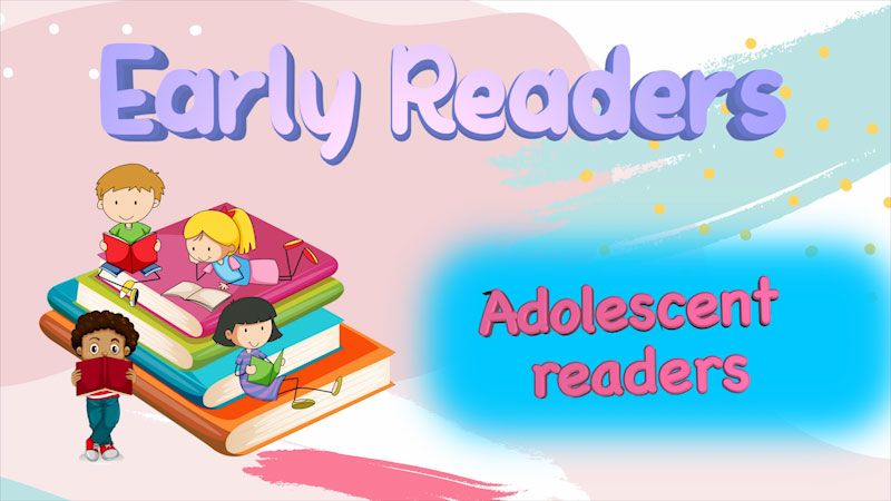 Still image from: Literacy Tips Across Ages: Early Readers (Adolescent Readers)