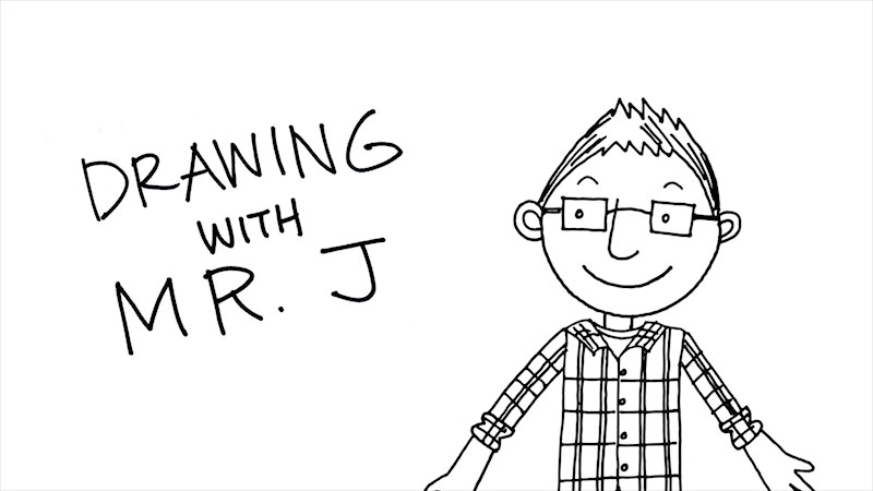 Still image from: Drawing With Mr. J: Parent & Teacher Introduction