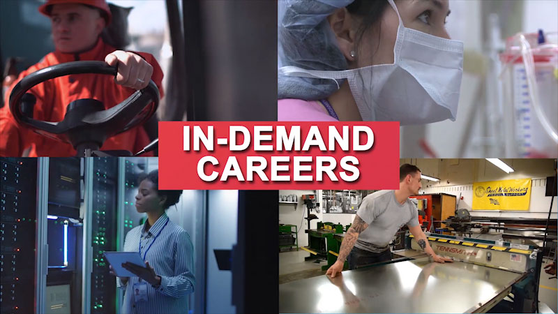 Still image from: Getting to Work: In-Demand Careers