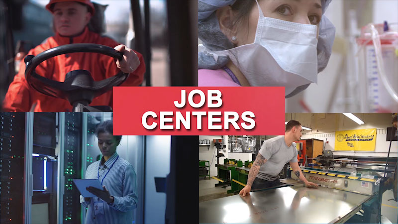 Still image from: Getting to Work: Job Centers