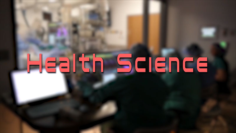 Still image from: Health Science Careers and Construction Technology Careers: Health Science Fields