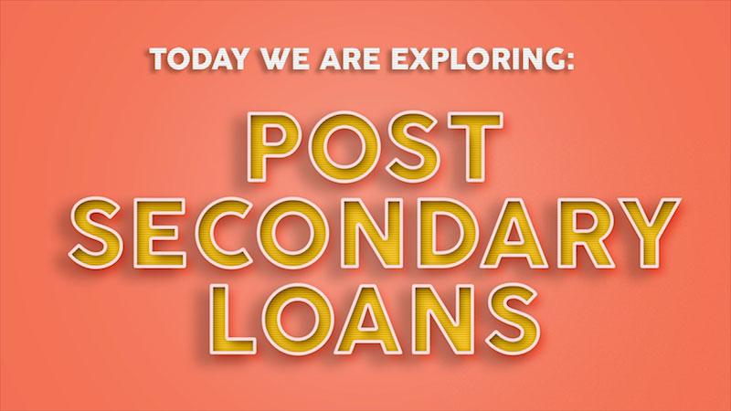 Still image from: Beginning Balance: Financial Literacy (Post-Secondary Loans)