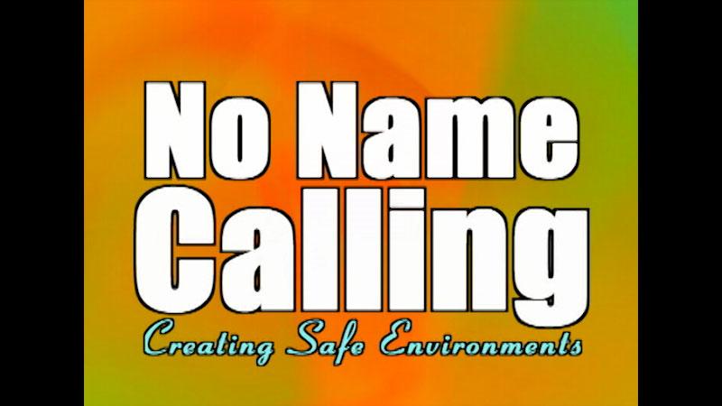 Still image from No Name-Calling: Creating Safe Environments