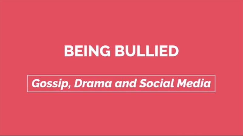 Still image from: Gossip, Drama, and Social Media: Being Bullied