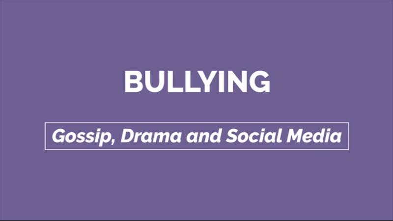 Still image from: Gossip, Drama, and Social Media: Bullying