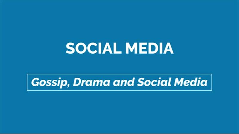 Still image from: Gossip, Drama, and Social Media: Social Media