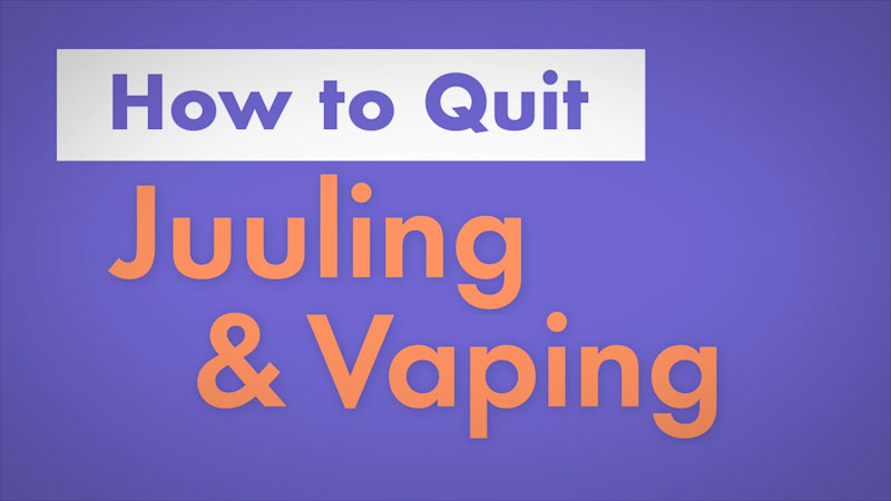 Still image from: How to Quit Juuling and Vaping
