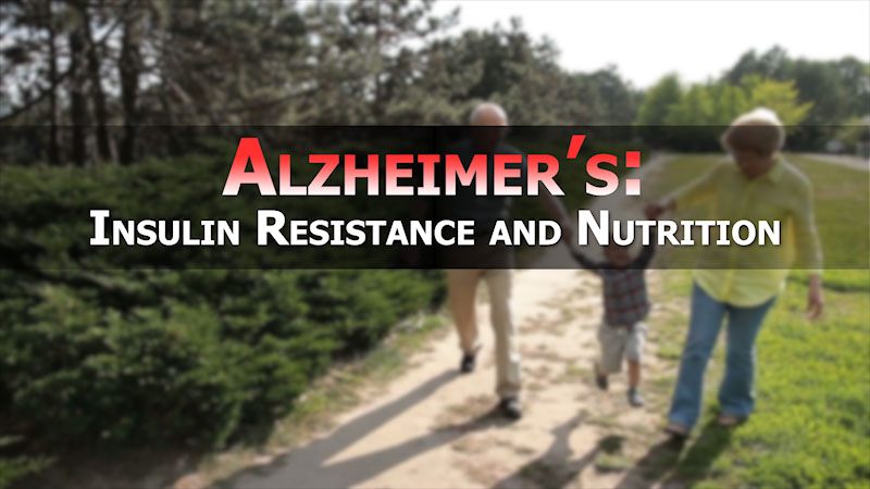 Still image from: Alzheimer's: Insulin Resistance and Nutrition