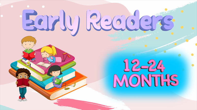 Still image from: Literacy Tips Across Ages: Early Readers (12-24 months)