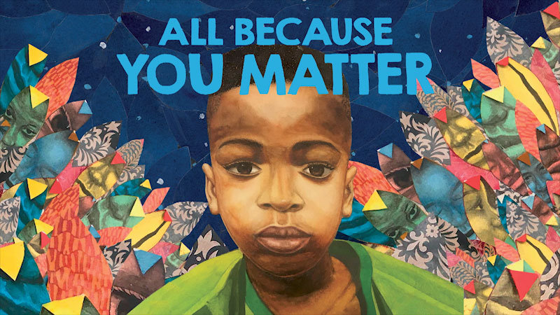 Still image from: All Because You Matter