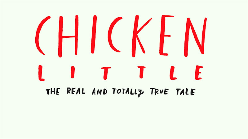Still image from Chicken Little: The Real and Totally True Tale