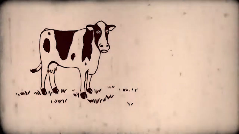 Still image from: Into the Outdoors: Exploring Dairy Science