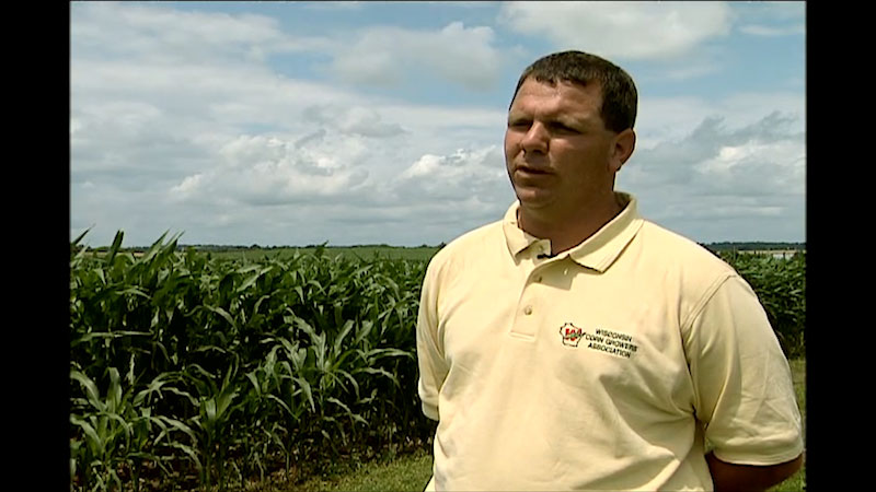 Still image from Into the Outdoors: Corn Ethanol--Fueling Our Future