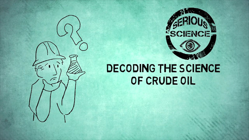 Still image from: Into the Outdoors: Decoding the Science of Crude Oil