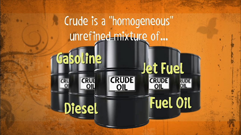 Still image from: Into the Outdoors: Turning Crude Oil Into Fuels