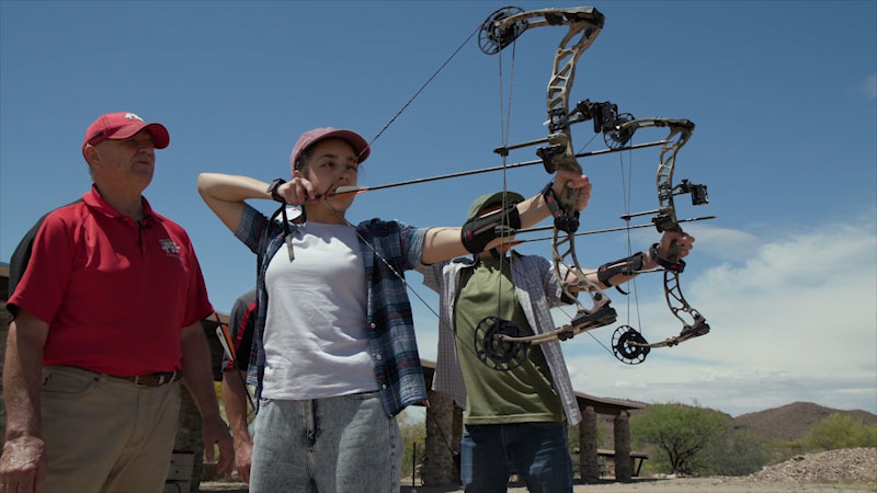 Still image from: Into the Outdoors: Shooting Sports Challenge