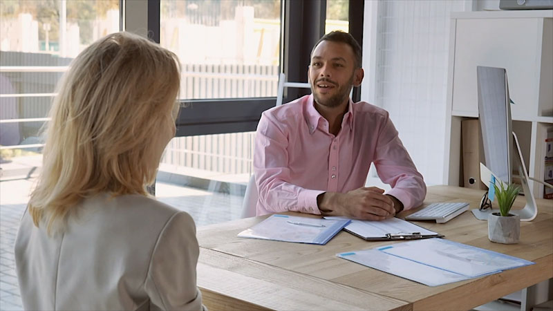 Still image from: Business Essentials: Interviewing Tips
