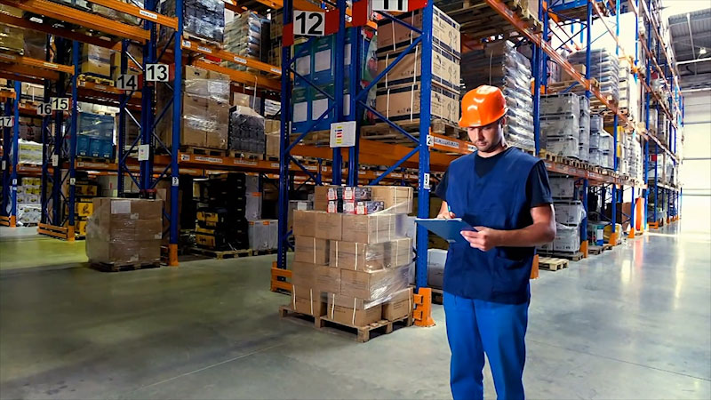 Still image from: Business Essentials: Safety Awareness in the Warehouse