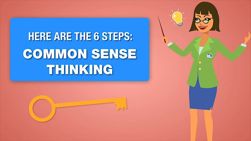 Still image from: Business Essentials: Common Sense and the Workplace
