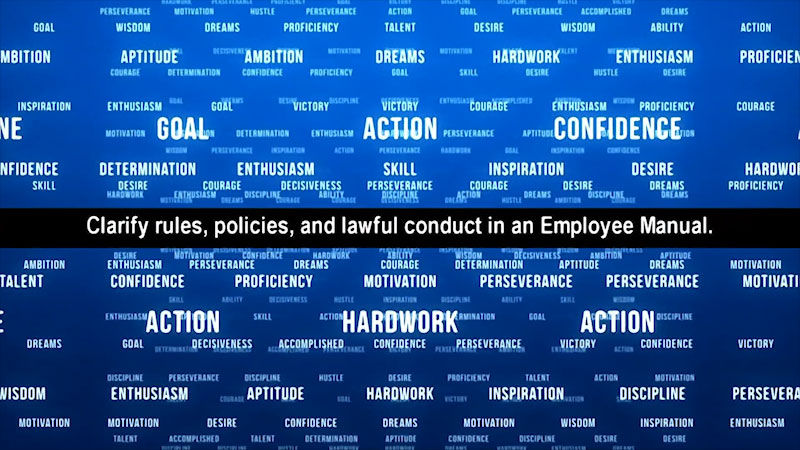 Still image from: Employee Excellence: Discipline in the Workplace