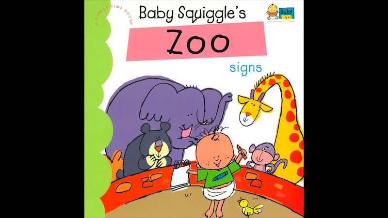 Still image from: My Baby Signs: Baby Squiggle's Zoo Signs