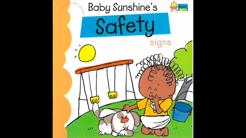 Still image from My Baby Signs: Baby Sunshine's Safety Signs