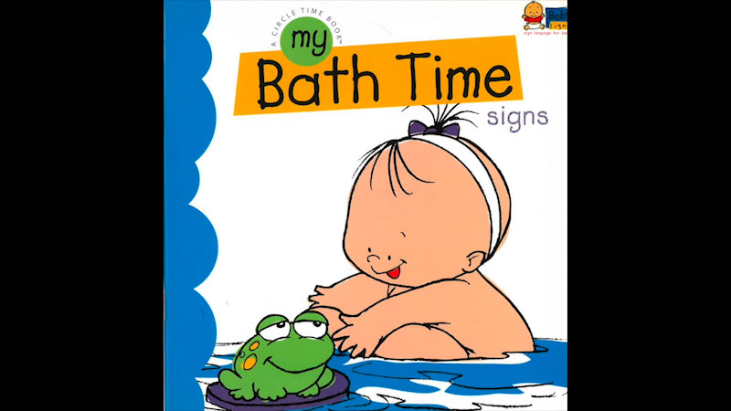 Still image from: My Baby Signs: My Bath Time Signs