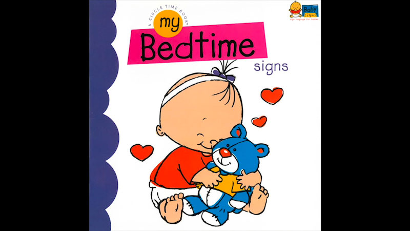 Still image from: My Baby Signs: My Bedtime Signs