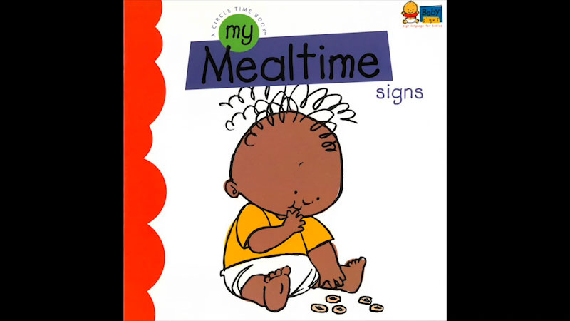 Still image from: My Baby Signs: My Mealtime Signs