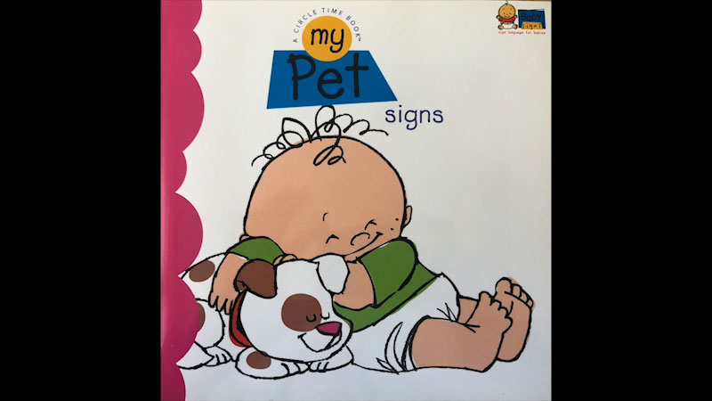 Still image from: My Baby Signs: My Pet Signs