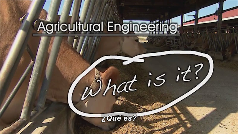 Still image from: Agricultural Engineering SP