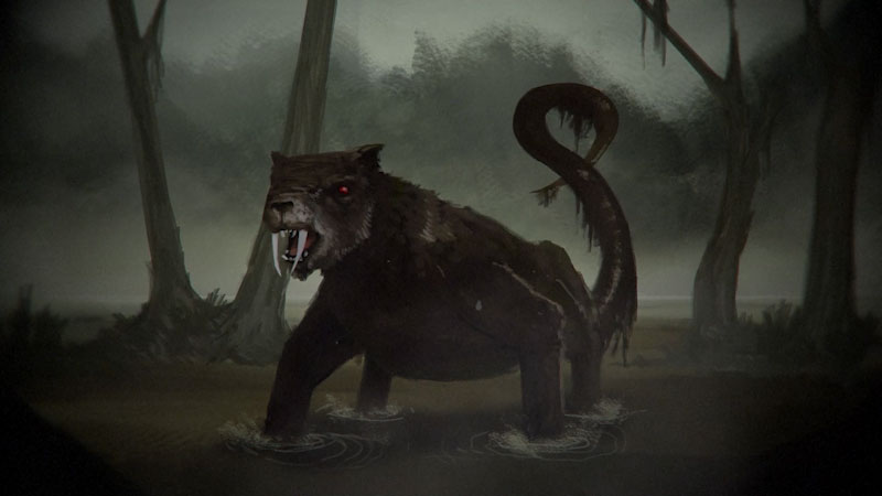 Still image from: Monstrum: Bunyip--Australia's Mysterious Amphibian Monster