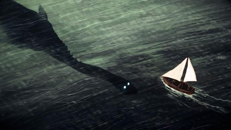 Still image from: Monstrum: Unlocking the Mystery of Loch Ness