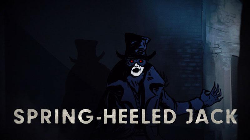 Still image from: Monstrum: The Original Urban Legend--Spring-Heeled Jack