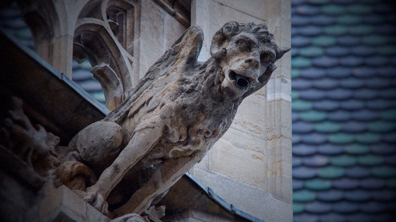 Still image from: Monstrum: How Gargoyles Became Monsters