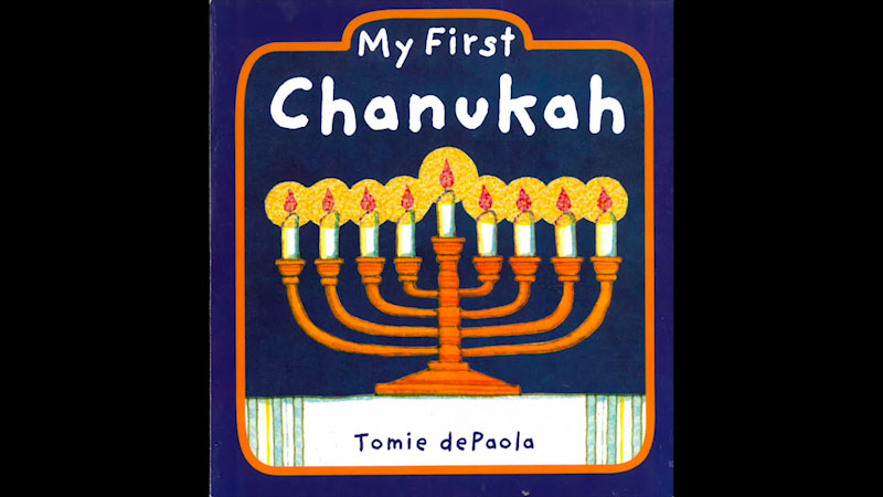 Still image from My First Chanukah