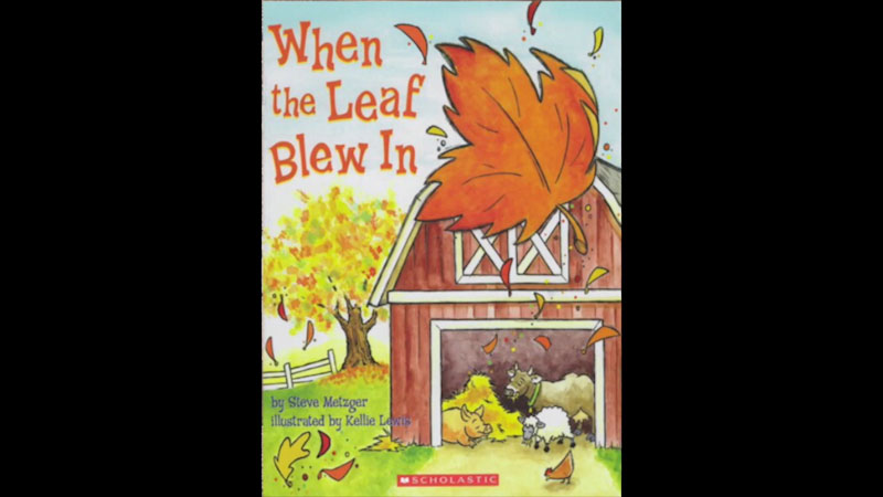 Still image from: When the Leaf Blew in