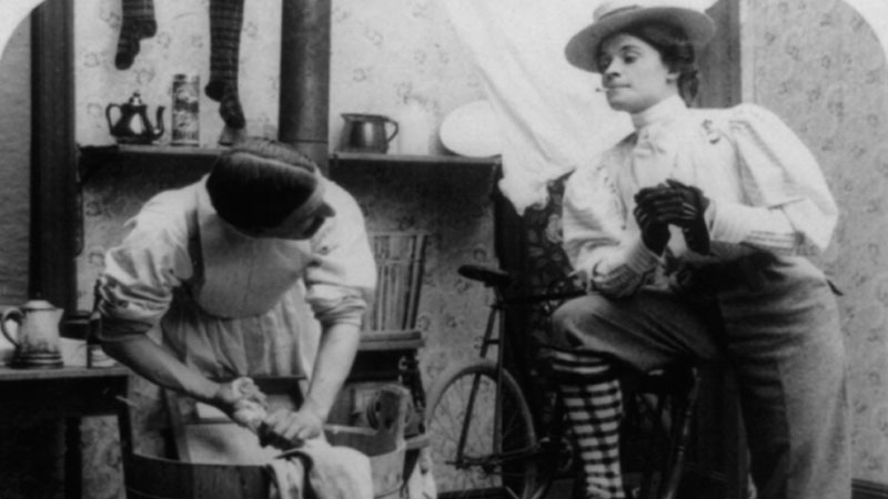 Still image from: Women of the West