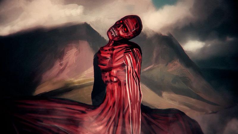 Still image from: Monstrum: Nuckelavee--Scotland's Skinless Evil Monstrosity