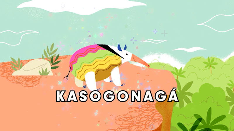 Still image from: Monstrum: Kasagonagá--The Cute, Kind Monster We All Need Right Now