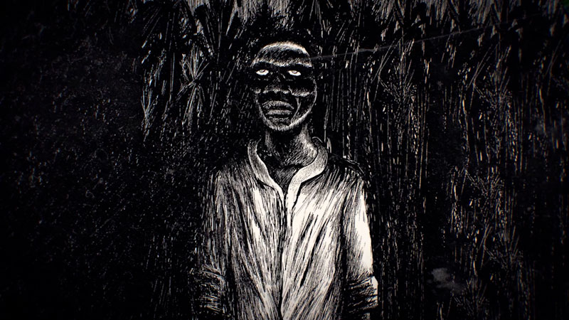 Still image from: Monstrum: The Origins of the Zombie, From Haiti to the U.S.