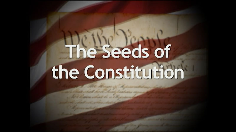 Still image from: A History of the U.S. Constitution: The Seeds of the Constitution (Part 1)