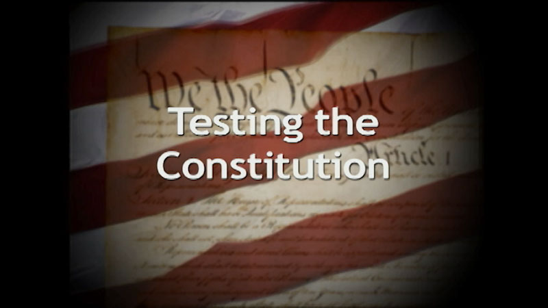 Still image from A History of the U.S. Constitution: Testing the Constitution (Part 4)