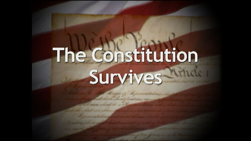 Still image from: A History of the U.S. Constitution: The Constitution Survives (Part 5)